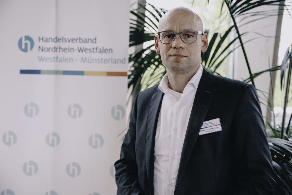 Stefan Grubendorfer, Vorsitzender Handelsverband NRW Westfalen-Münsterland