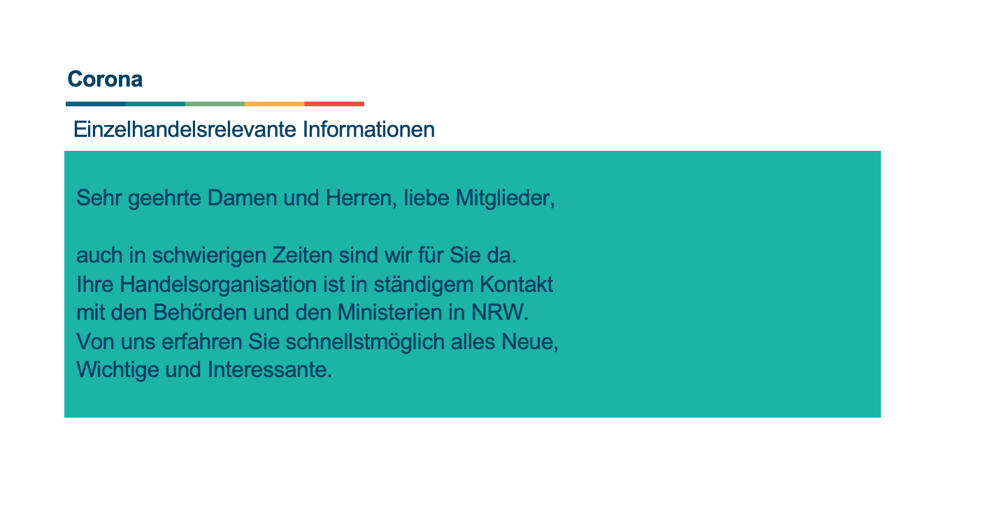 Sonderinformationen