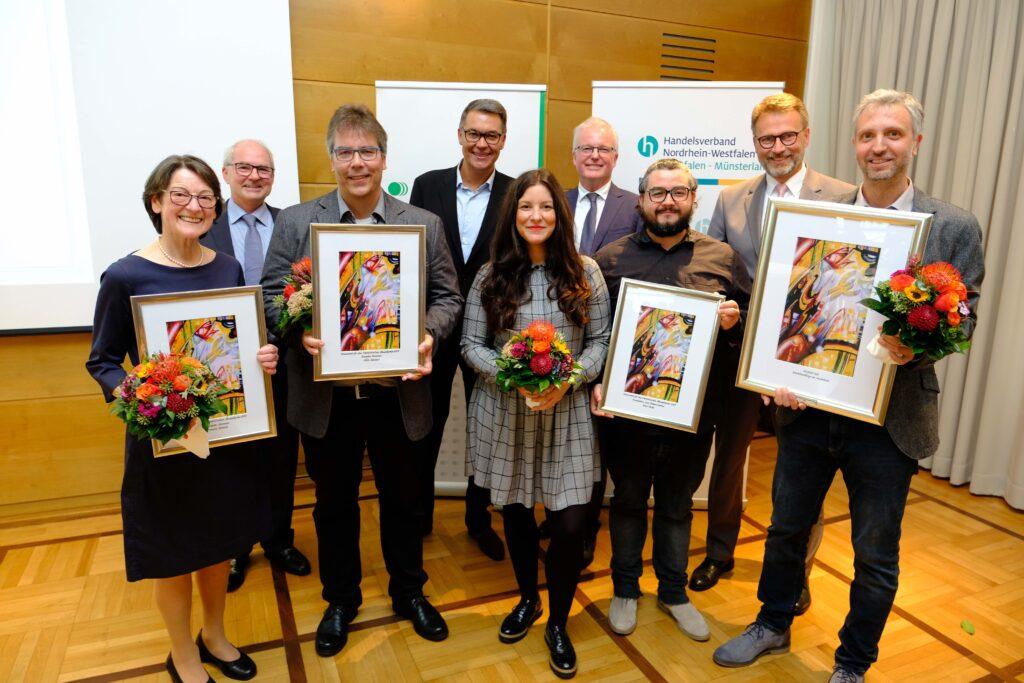 Foto der Verleihung Westfälischer Handelspreis 2019